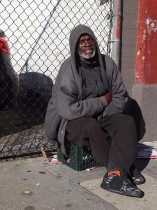 Homeless Begging