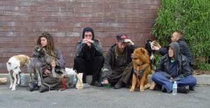 Homeless group