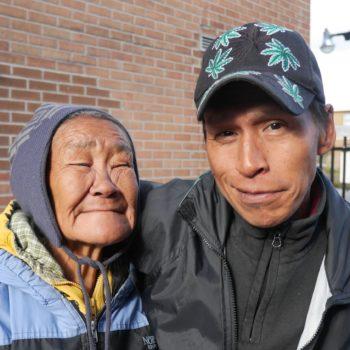 homeless family in Ottawa, Canada