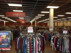 Thrift Shopper store
