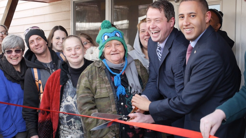 Ithaca Rescuse Mission Grand Opening