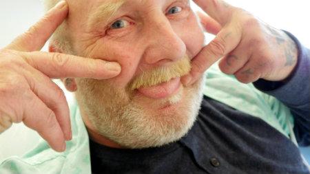 homeless man in hospital