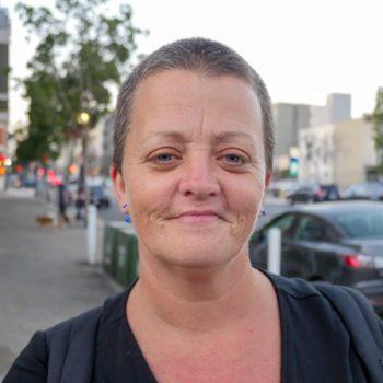 homeless woman san diego