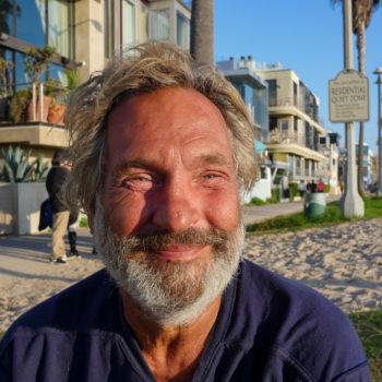 Homeless Man Venice Beach