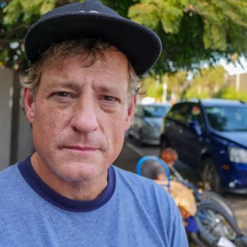 Venice Beach Homeless Man Shares about Police Sweeps in Los Angeles