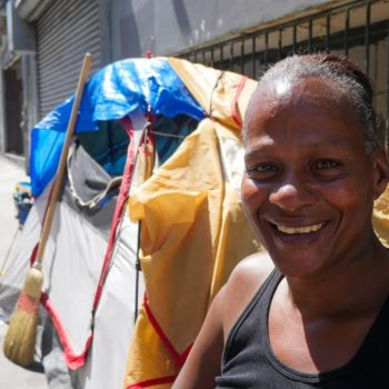 San Francisco Transgender Homeless Woman