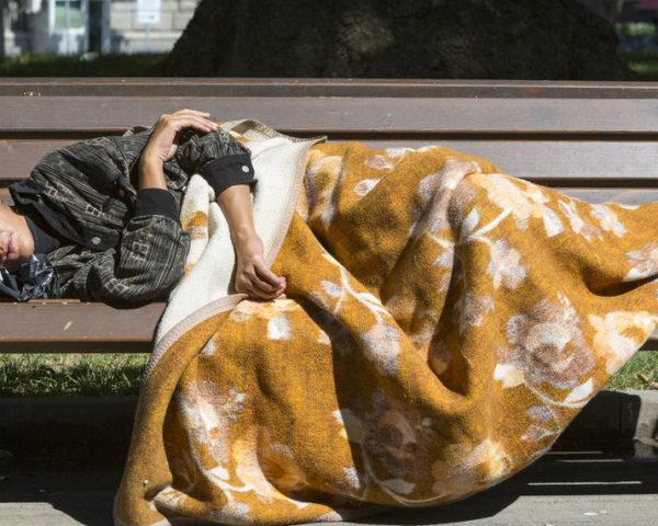 seattle homeless woman