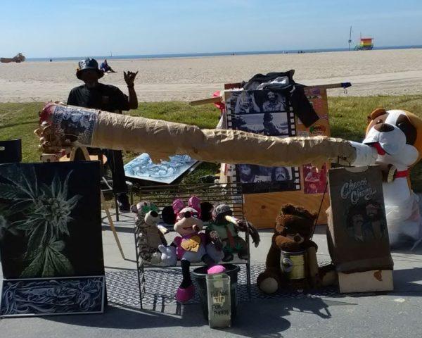 Homeless on Venice Beach