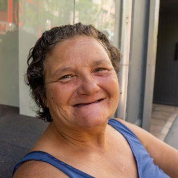 homeless woman denver