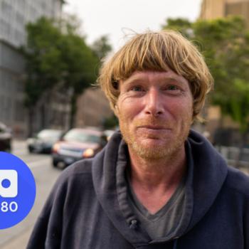 Homeless Man Panhandling in San Francisco VR180