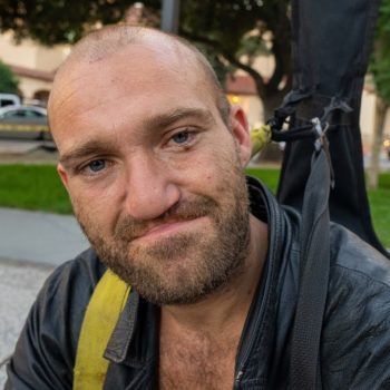 San Jose Homeless Man on the Streets since 9 Years Old. He's Now 29.