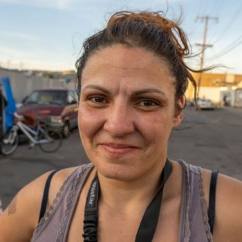 Pregnant Homeless Woman Shares about Homelessness in Oakland