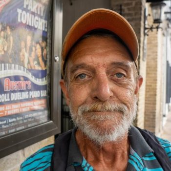Homeless Man Outside for 34 Years in Austin,