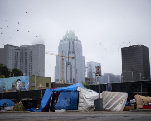 homeless residents