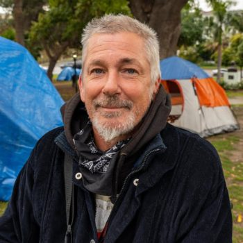 Homeless Man with Multiple Sclerosis Lives in a Tent in Los Angeles