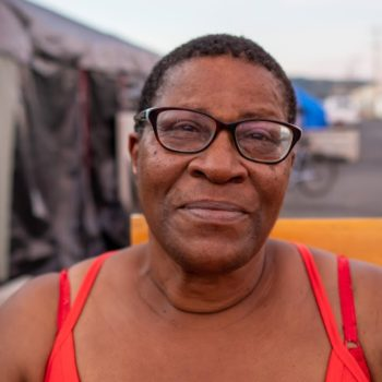 Homeless Woman on Her Fall into Homelessness, Living in a Tent City, and Drug Addiction
