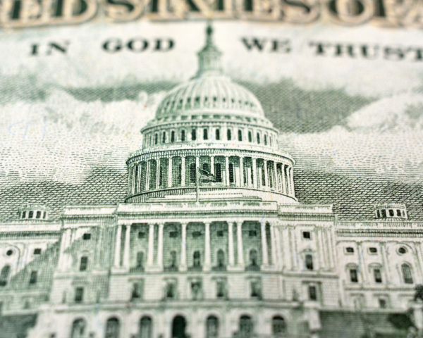 Congressional Building on Money