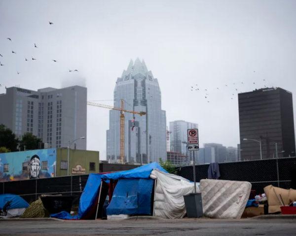 Homeless Tent Encampment