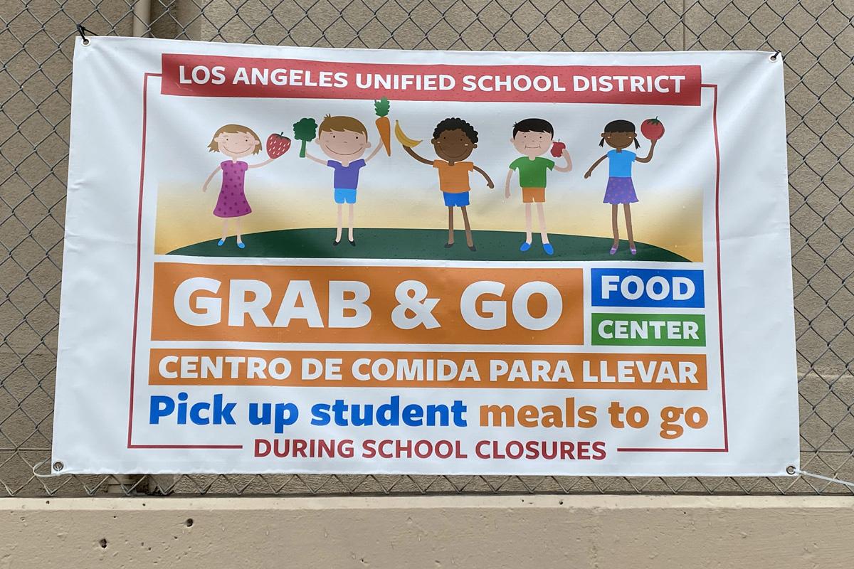 Los Angeles Grab & Go program