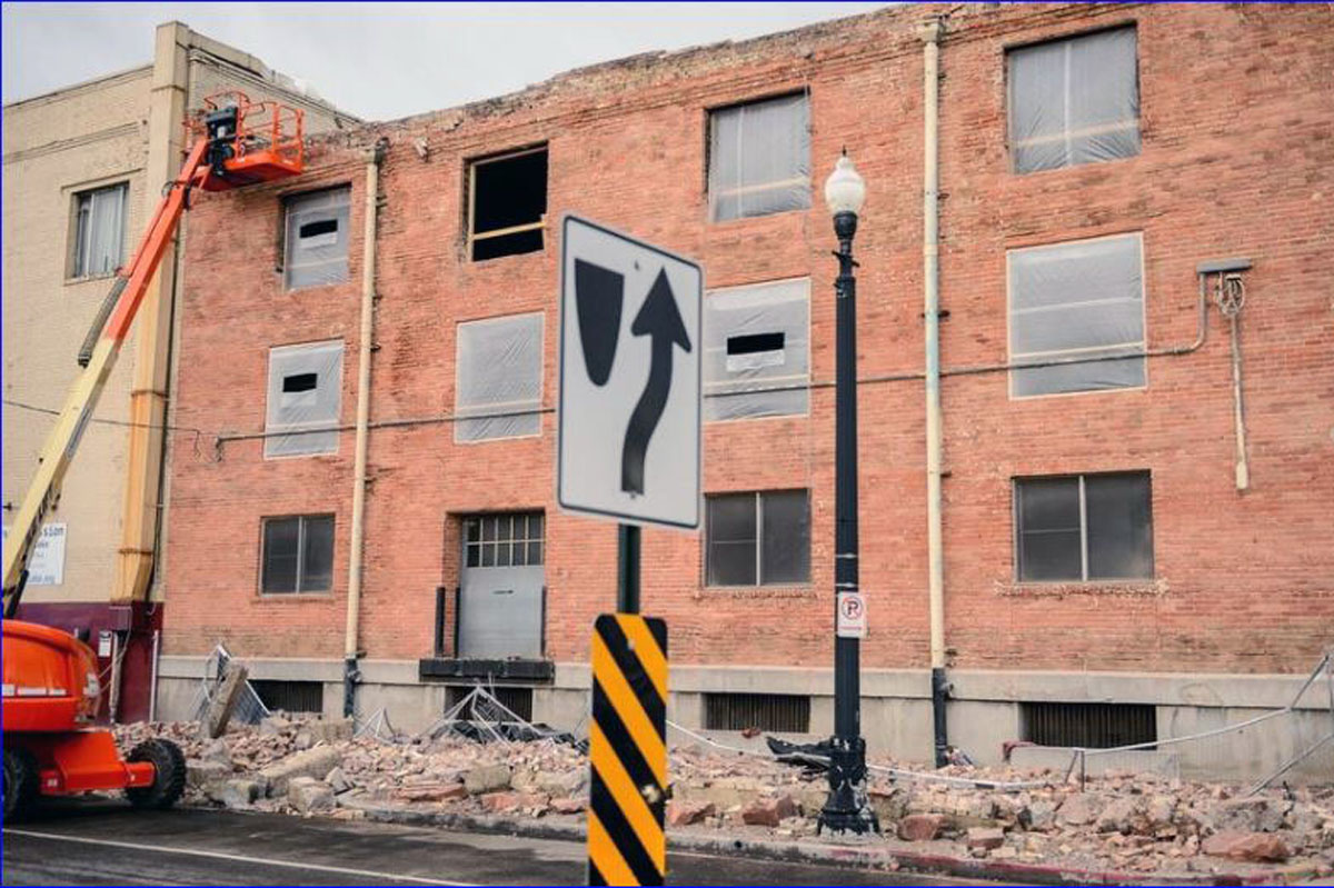 Salt Lake City Rescue Mission after Earthquake hit