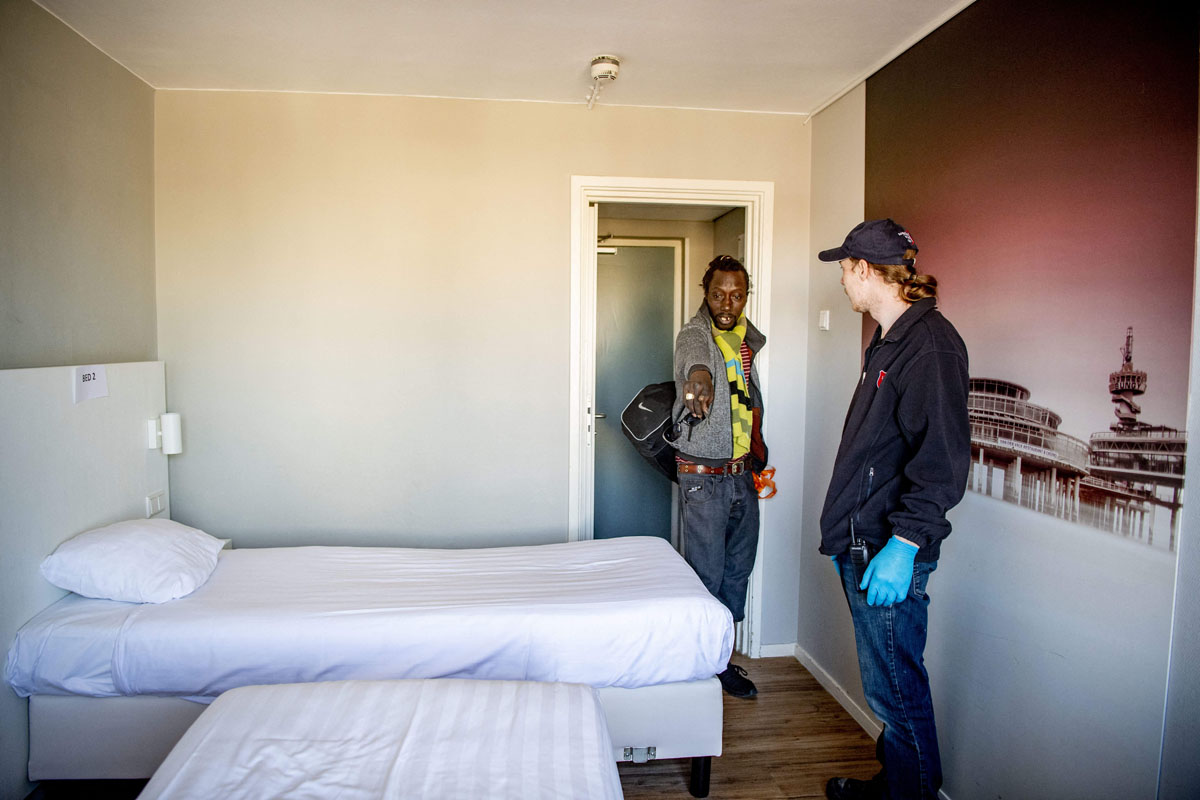 Housing Homeless People in Hotel Rooms During COVID-19 Pandemic