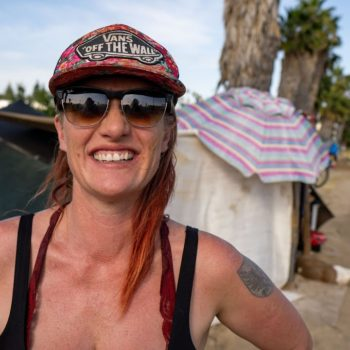 Homeless Woman Running for Chatsworth Neighborhood Council