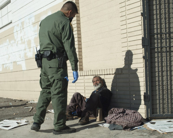 criminalization of homeless people