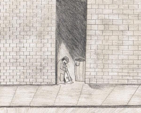 drawing by fifth grade Loki