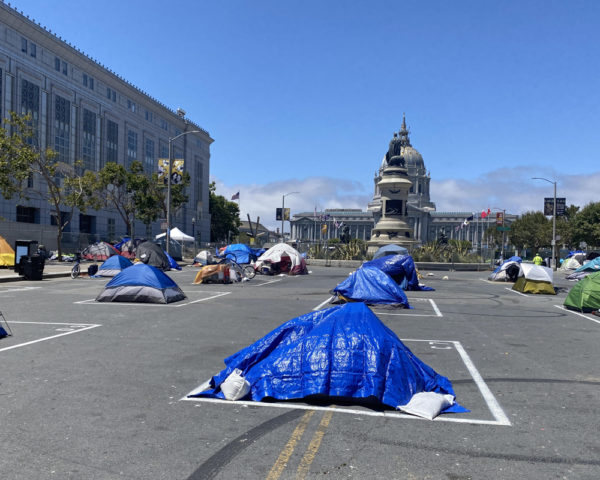 San Francisco Sanctioned Tent Camp