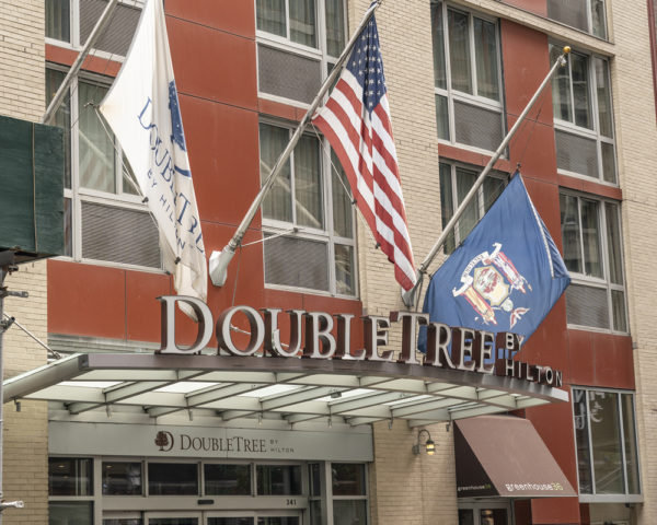 NYC uses empty hotels to house homeless people