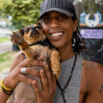 Los Angeles Homeless Man on Building Community in Echo Park Lake