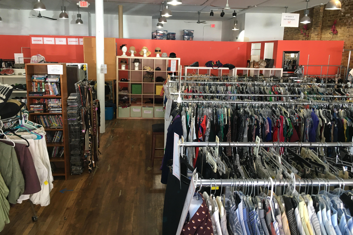 social enterprise the Monarch Thrift Store