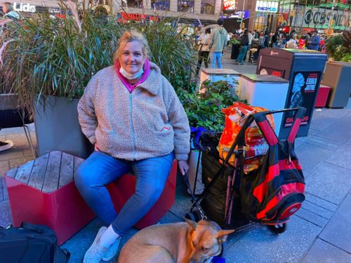 Homeless Woman in New York City Has Brain Damage from Domestic Violence