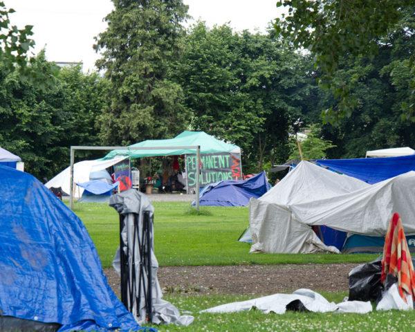 Vancouver homeless encampment
