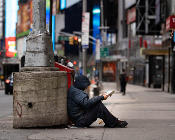 homeless in new york city