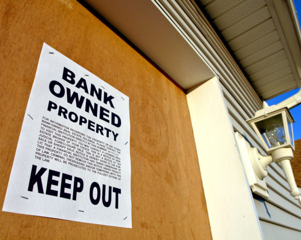 foreclosure due to predatory lending