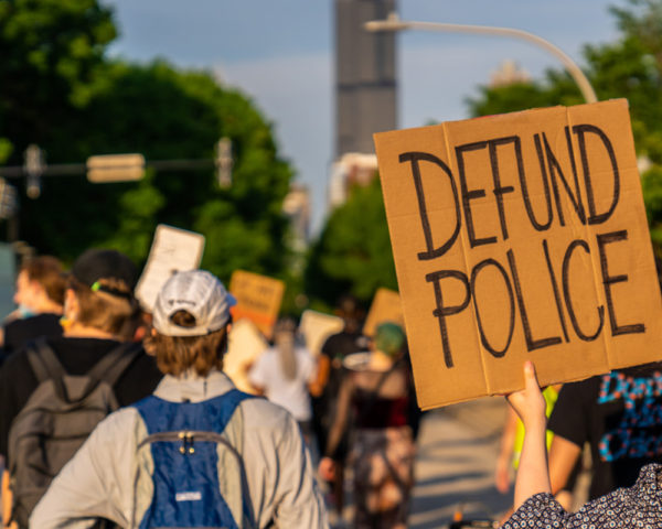 March about Defunding the police