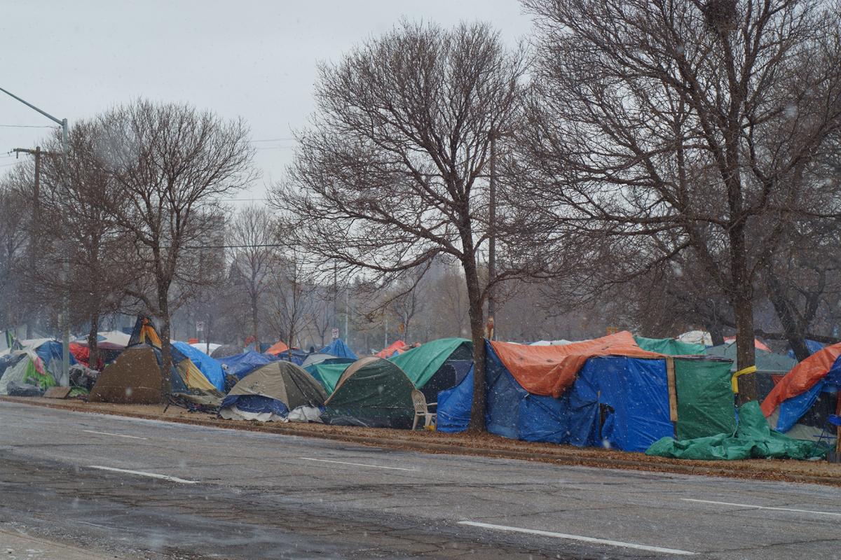 homelessness in Edmonton October 2020