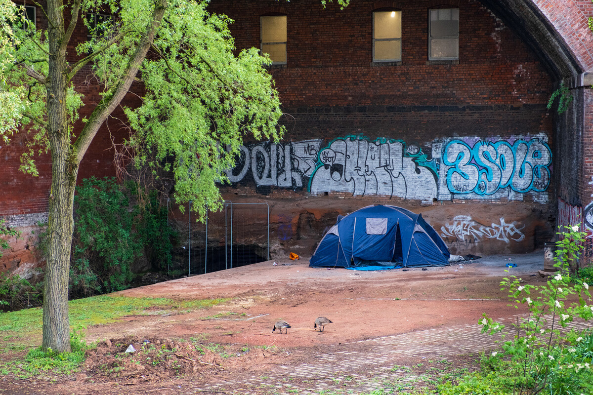 homeless in UK