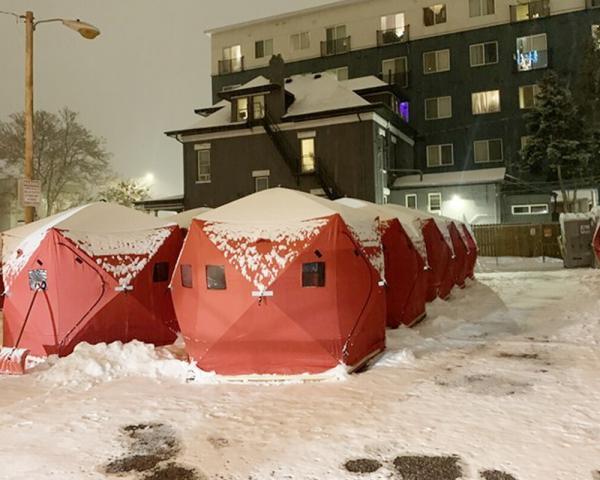 temporary shelter in Denver