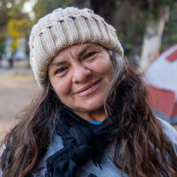 Echo Park Homeless Woman Is Full of Joy and Happiness
