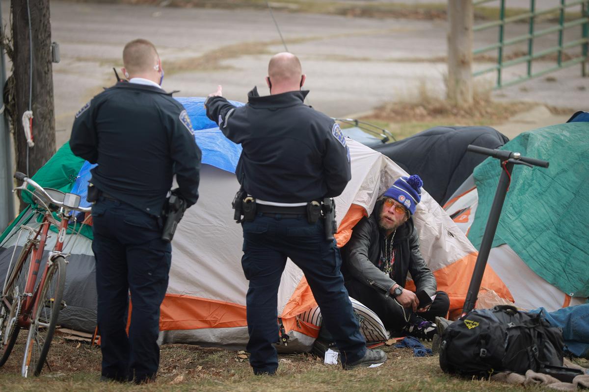 criminalizing homeless people