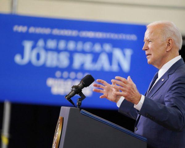 Biden discusses the American Jobs Plan