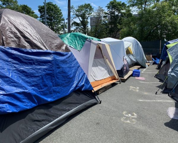 government sanctioned encampment