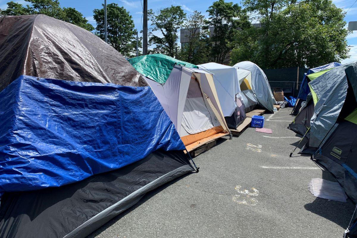 government sanctioned encampment