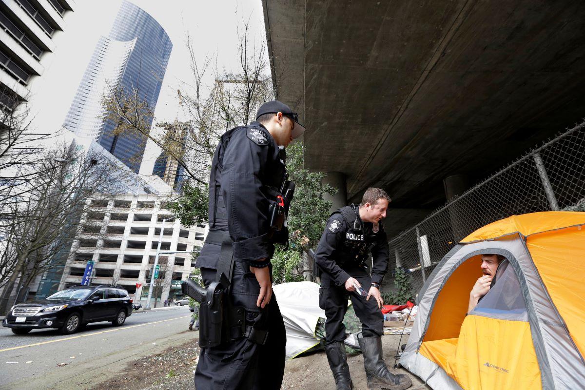 homeless sweeps