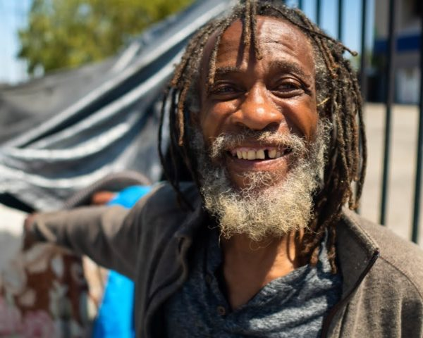 Homeless Man Talks Rats, Police Sweeps and Shelters