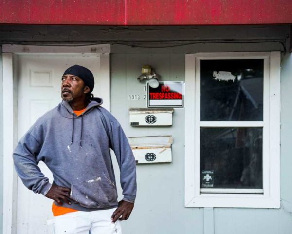 Man evicted from his home during moratorium