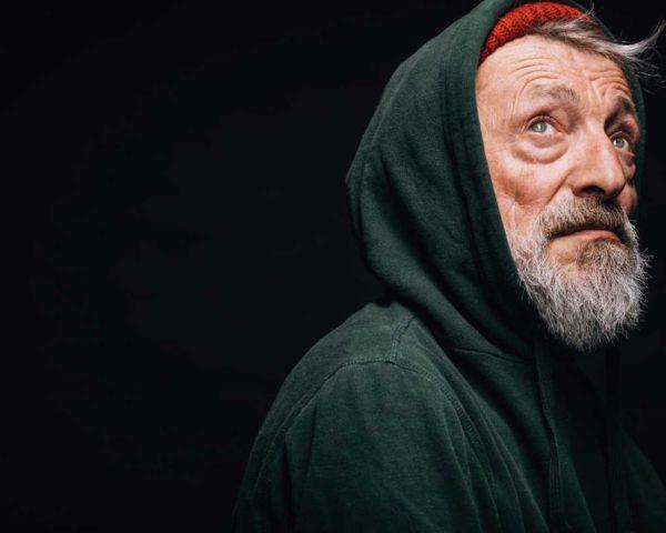 homeless male