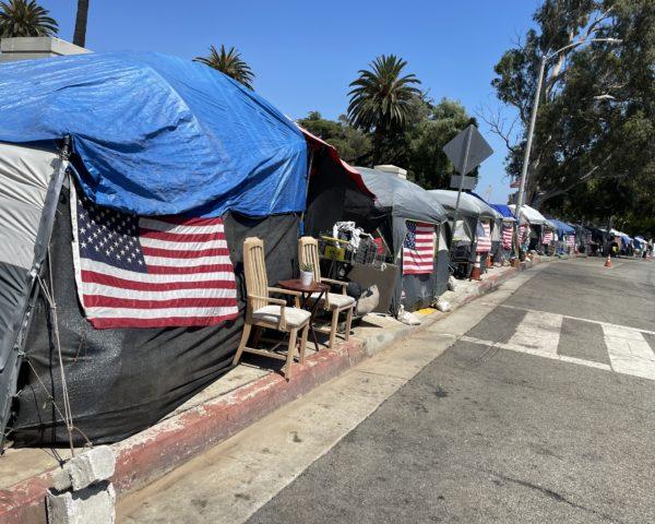 Veteran's Row Los Angeles